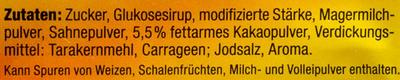 Schlemmer-Pause Creme-Pudding Schokolade/Haselnuss-Geschmack - Ingrédients