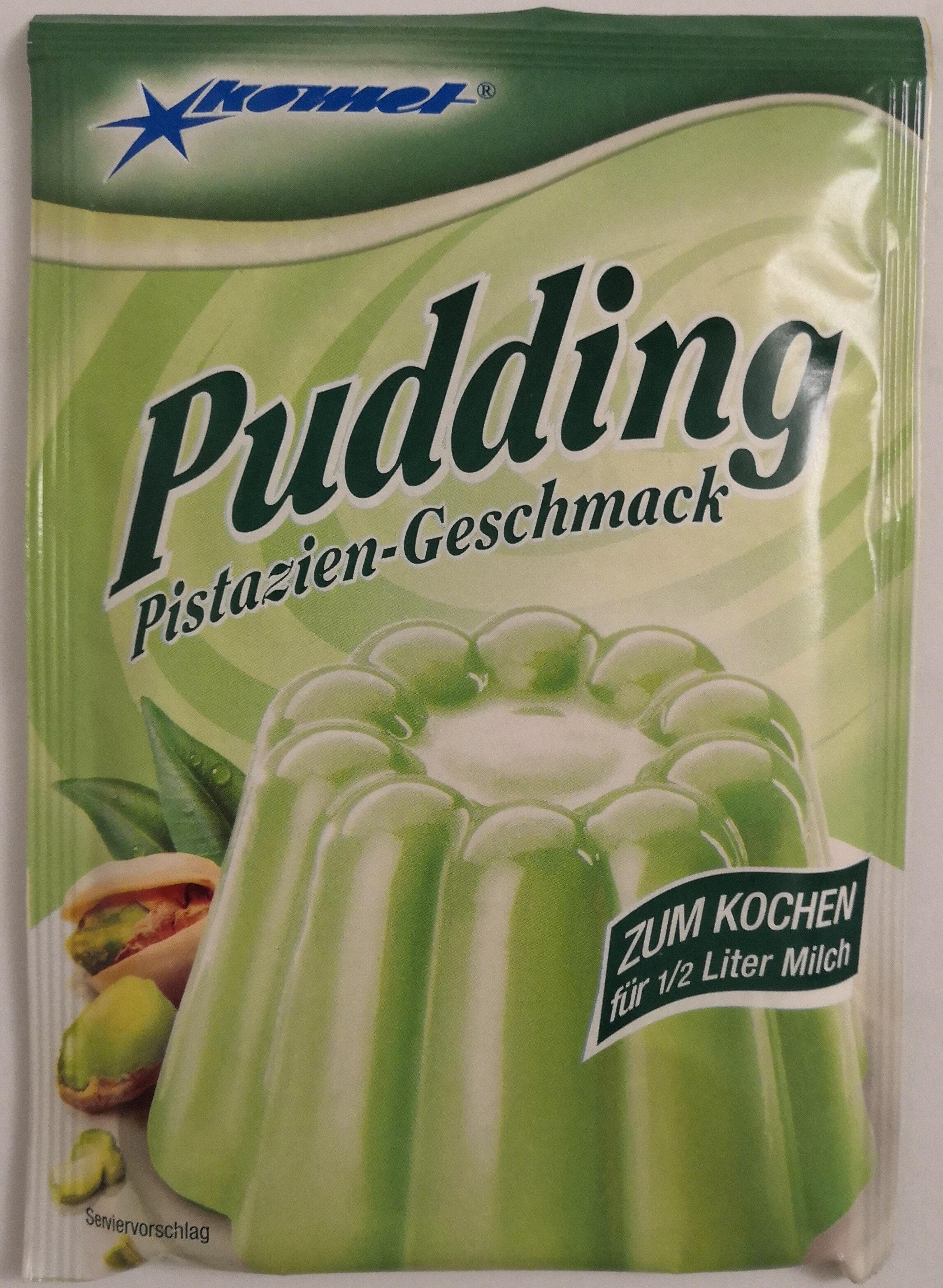 Komet Pudding Pistazien-Geschmack - Produkt - de