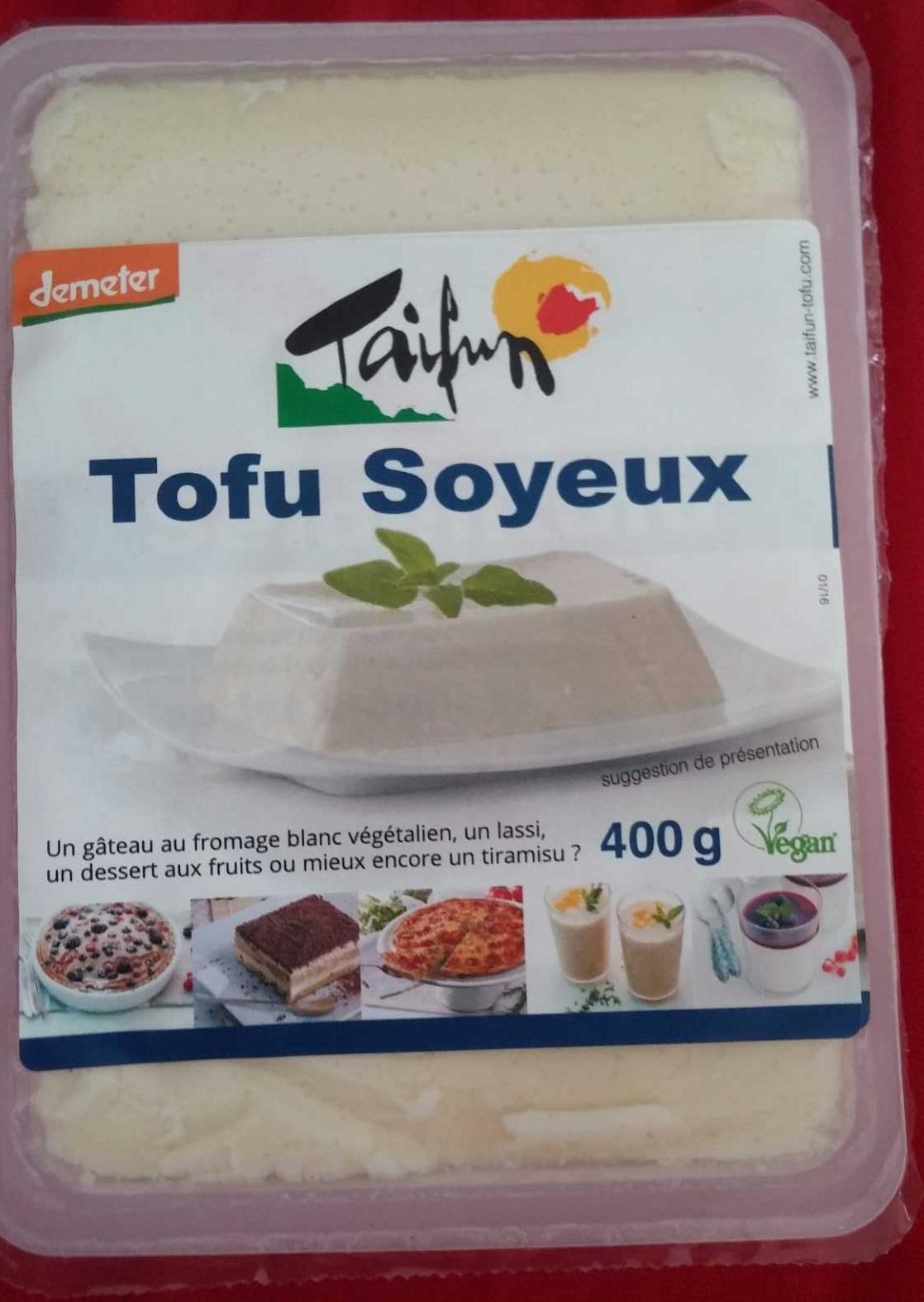 Tofu soyeux - Product - fr
