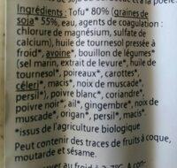 Grill Sausages - Ingrediënten - en
