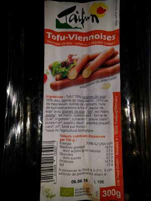 Tofu-Viennoises - Produit - fr