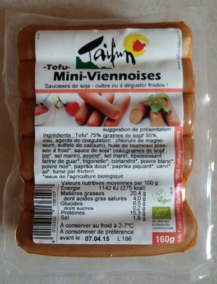 Mini-Viennoises Tofu - Product - fr