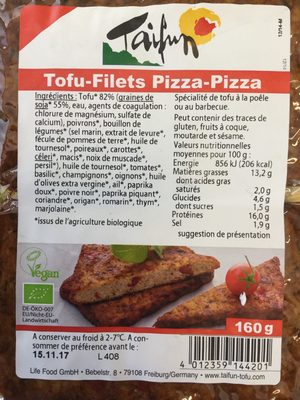Tofu-Filets Pizza-Pizza - Produit - fr