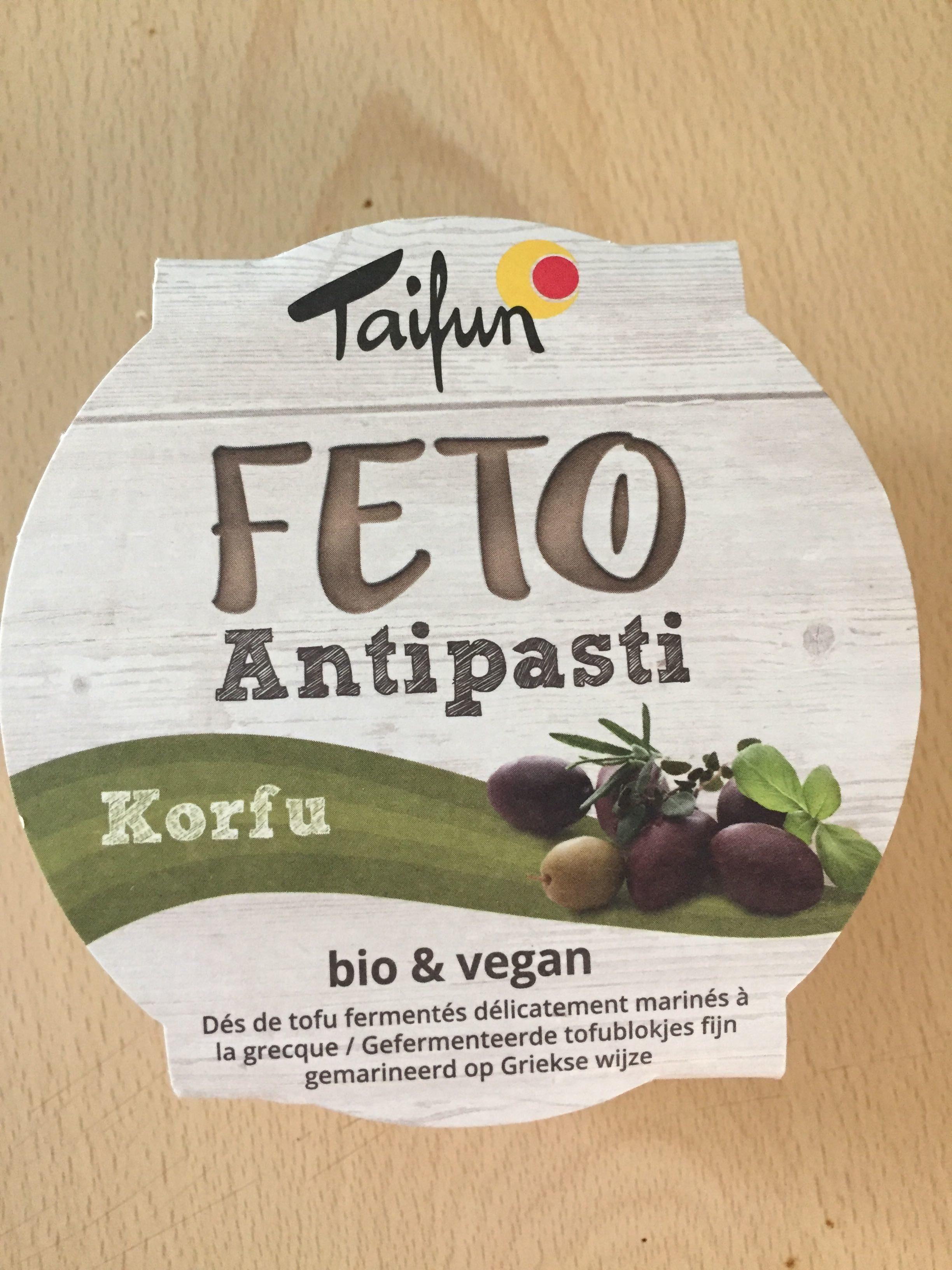 Feto Bio Tofu Korfu, 125 G - Produit - fr