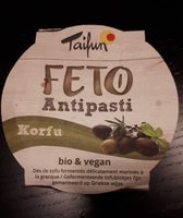 Feto Bio Tofu Korfu, 125 G - Informations nutritionnelles - fr