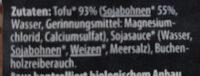 Räuchertofu - Ingredients