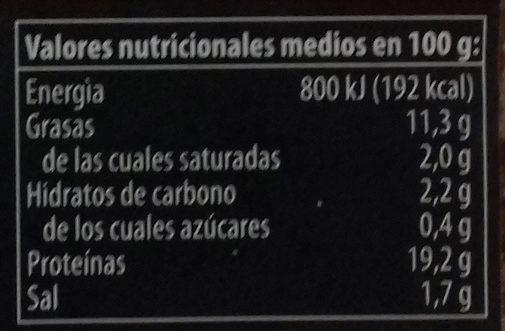 Tofu ahumado con almendras y sésamo - Valori nutrizionali - es