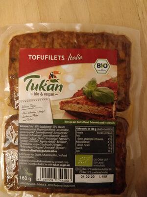 Tofufilets, Italia (tukan Tofu) - Product