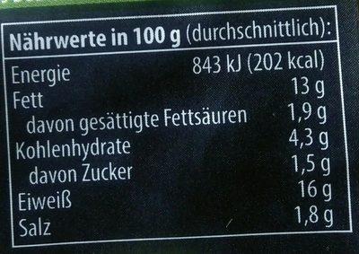 Tofufilets, Italia (tukan Tofu) - Nutrition facts