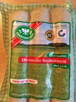Rostbratwurst - Produit - fr