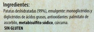 Purè de patatas en copos - Ingredientes - es