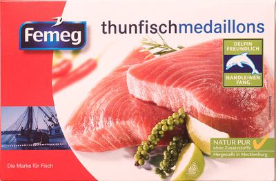 thunfishmedallions - Produkt