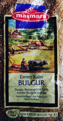 Dunkle Weizengrütze Grob - Bulgur - Product