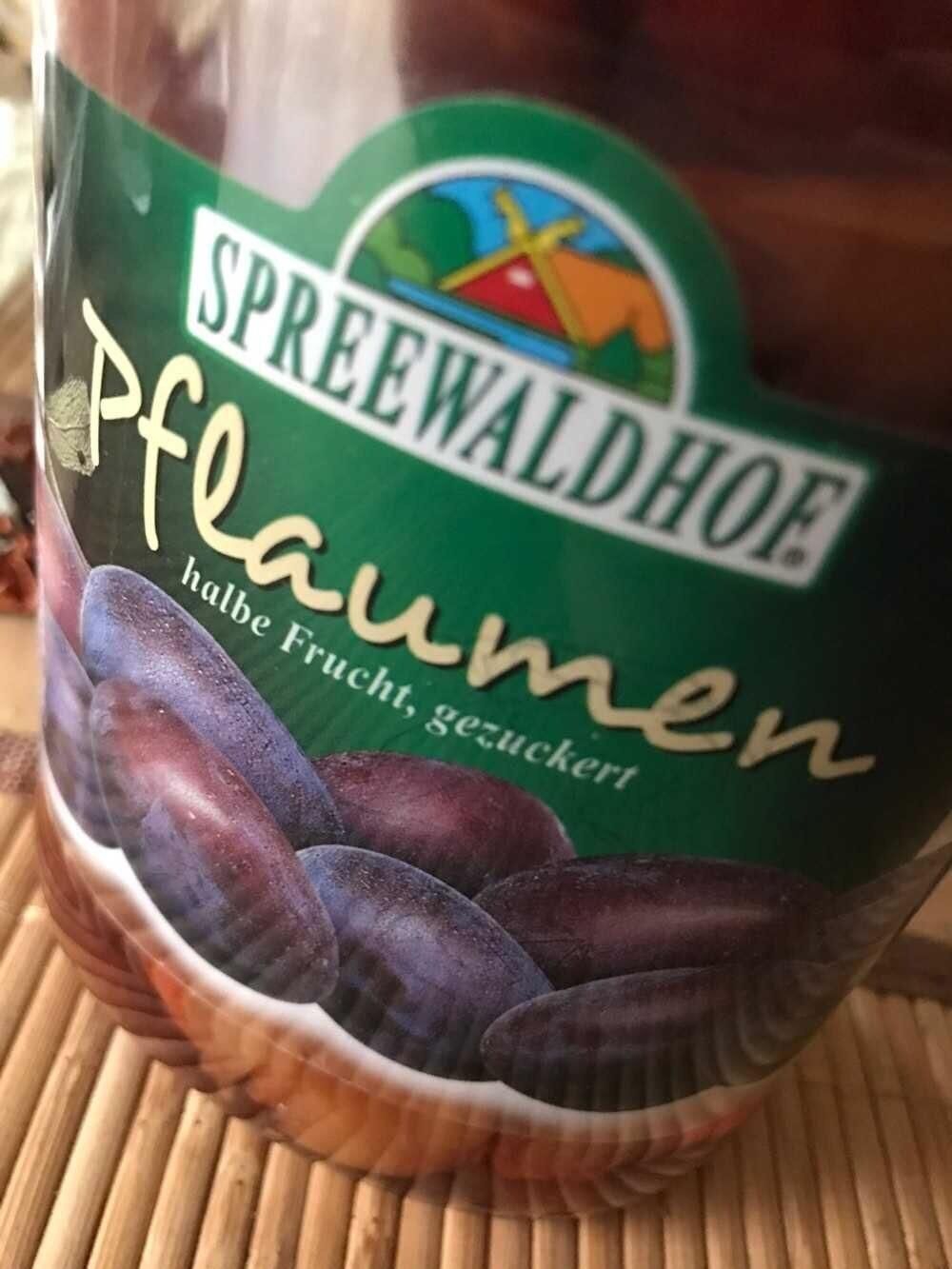 Spreewaldhof  - Pflaumen - Produit - de