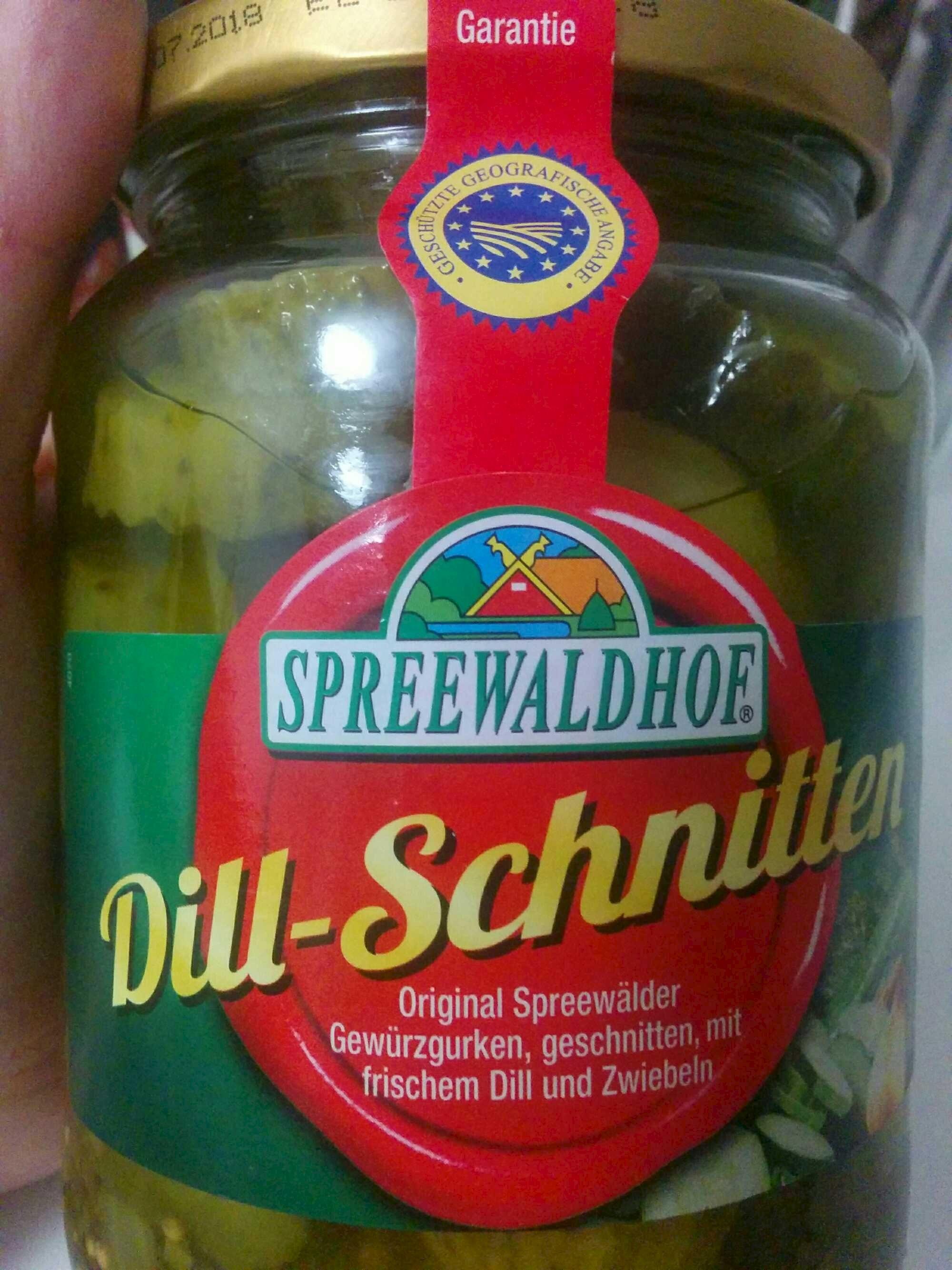 Dill-Schnitten - Produkt - en