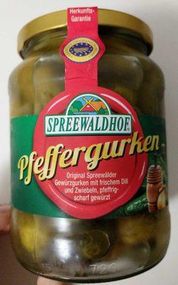 Pfeffergurken - Produit - de