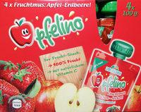 Fruchtmus Apfel-Erdbeere - Produkt