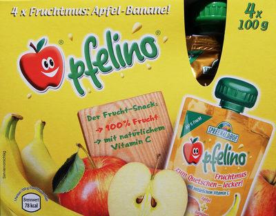 Fruchtmus Apfel-Banane - Product - de