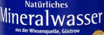 Natürliches Mineralwasser spritzig - Ingredients - de