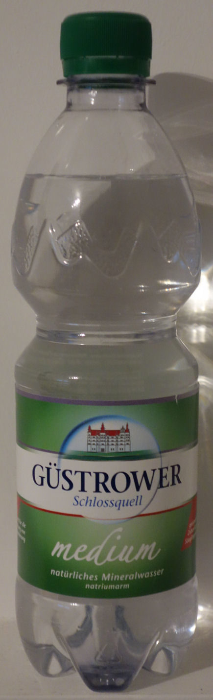 Mineralwasser medium - Produit - de