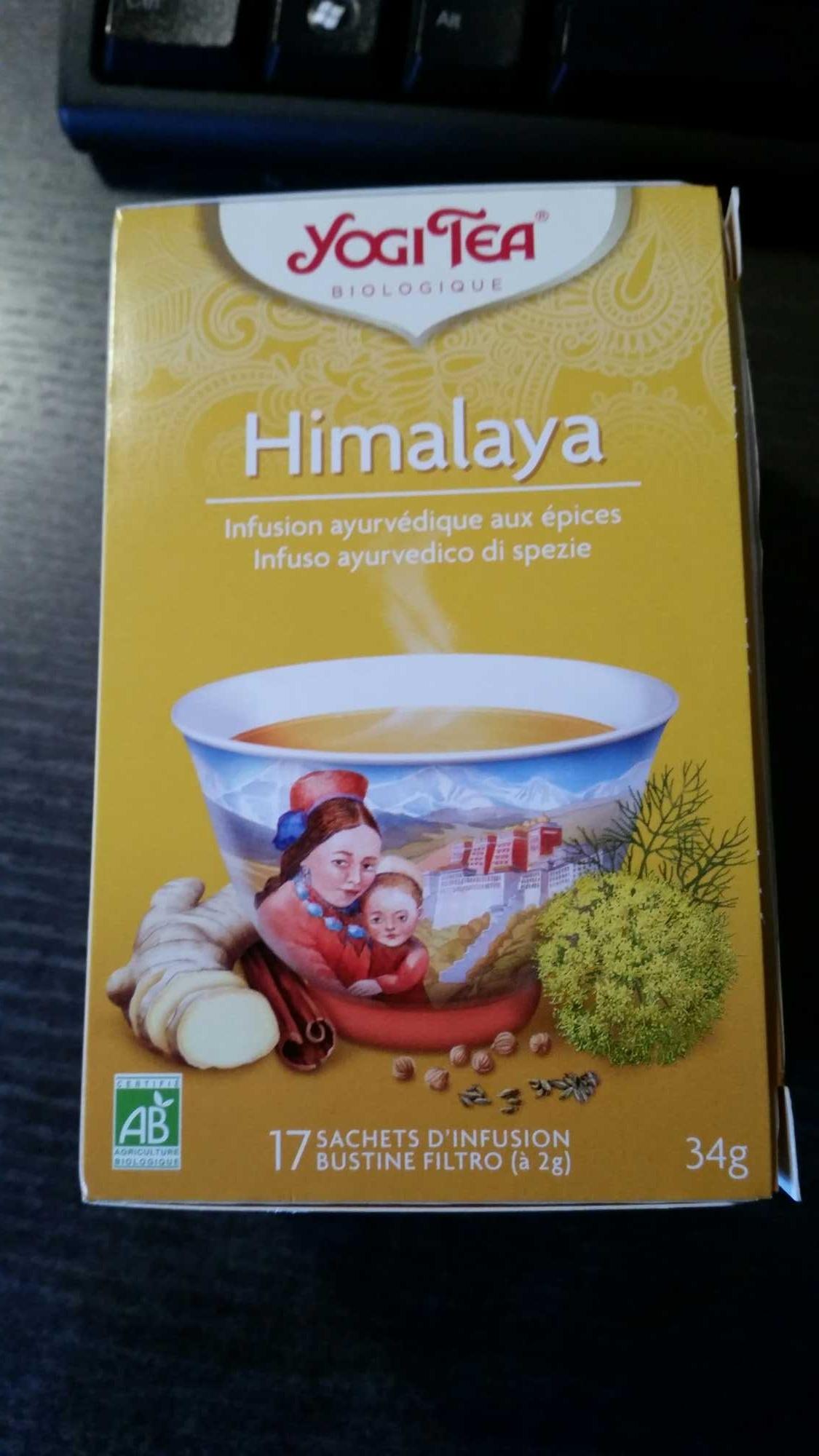 YogiTea Himalaya - Produit