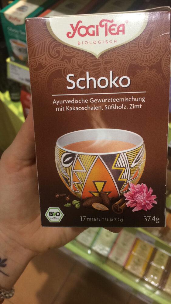 Yogi Tea Schoko, Aztec Spice - Produit - fr