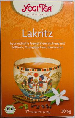 Yogi Tea Lakritz - Produit - de
