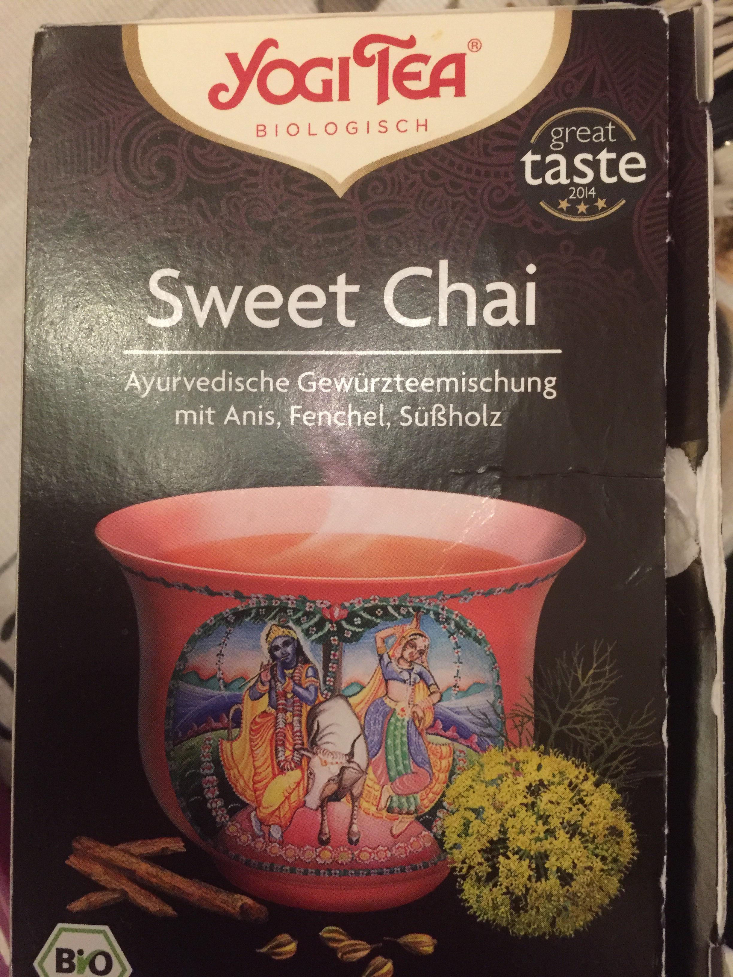 Sweet Chai - Produit