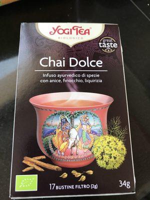 Yogi Tea Chai Dolce - Producto - ca