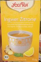 Ingwer Zitrone - Produit