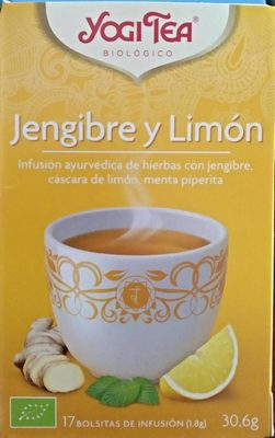 Yogi Tea Jengibre y Limón - Producte