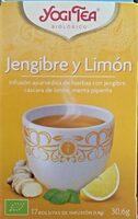 Jengibre y Limón - Producto - es