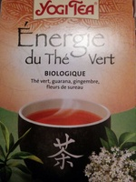 Énergie du thé vert - Produit