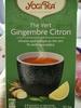 YOGITEA BIOLOGIQUE Thé Vert Gingembre Citron - Product