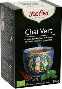 Chaï Vert - 17 Sachets - Yogi Tea - Producte - fr