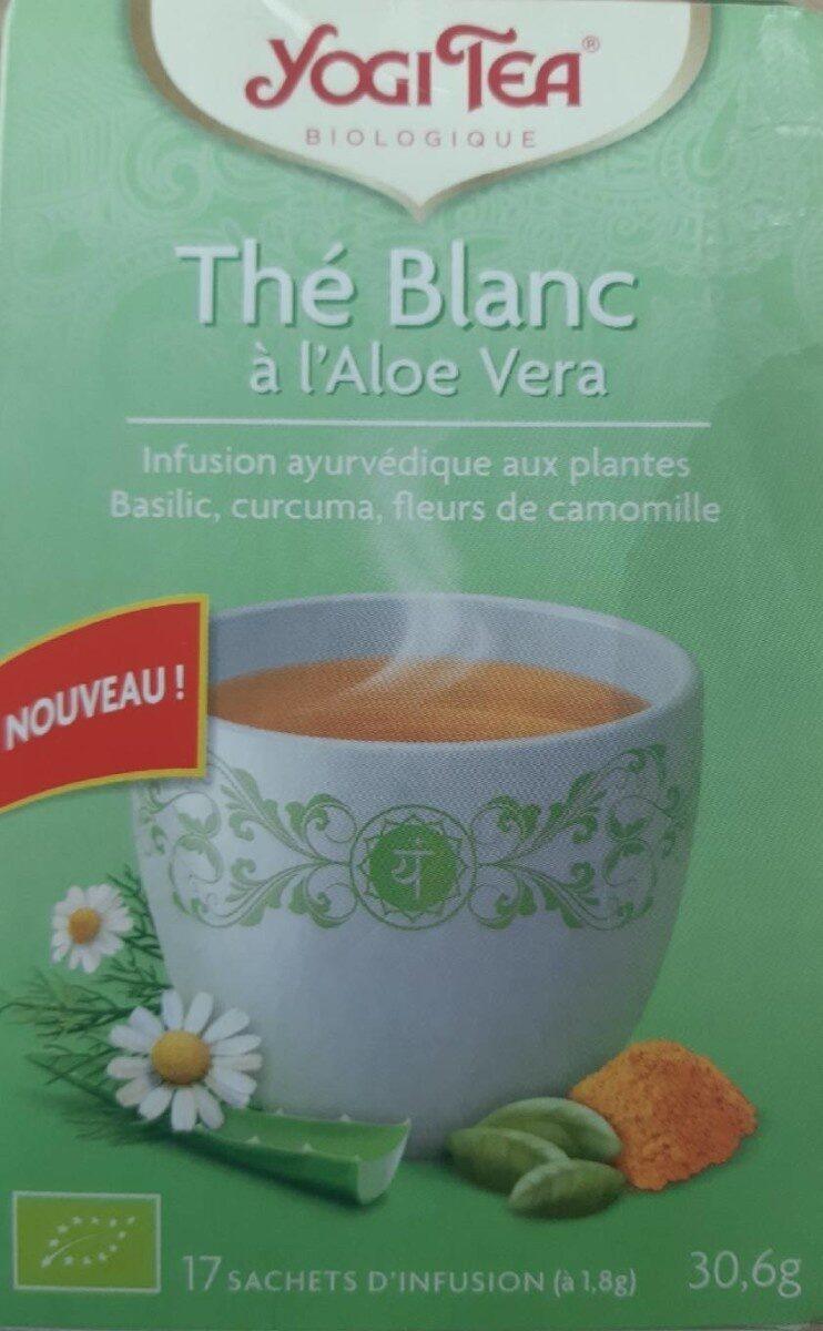 Thé Blanc à l'Aloe vera - Produit - fr