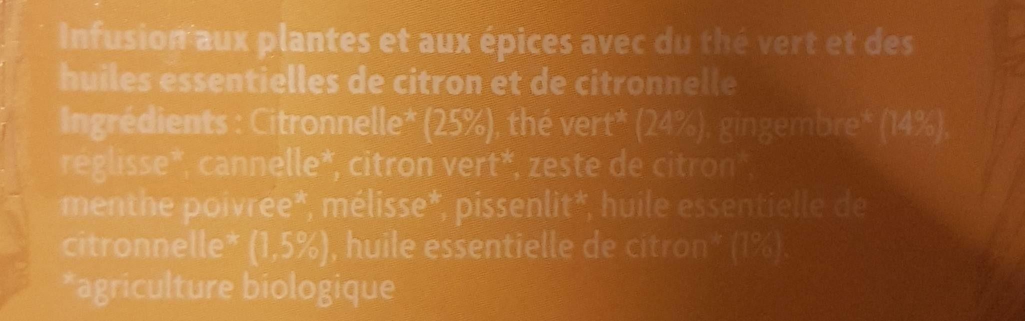 Pure hapiness thé - Ingrediënten - fr