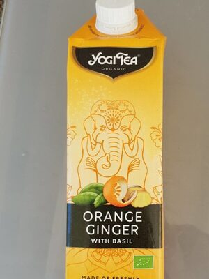 Orange ginger yogitea - Produit - fr