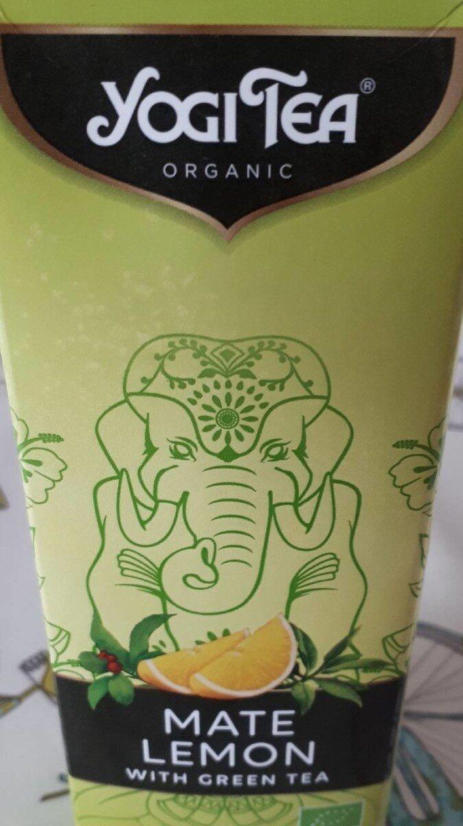 Mate lemon with green tea - Produit - fr