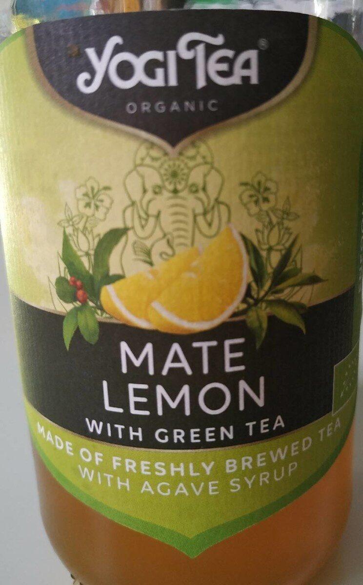 Mate Lemon with Green Tea - Produit - es
