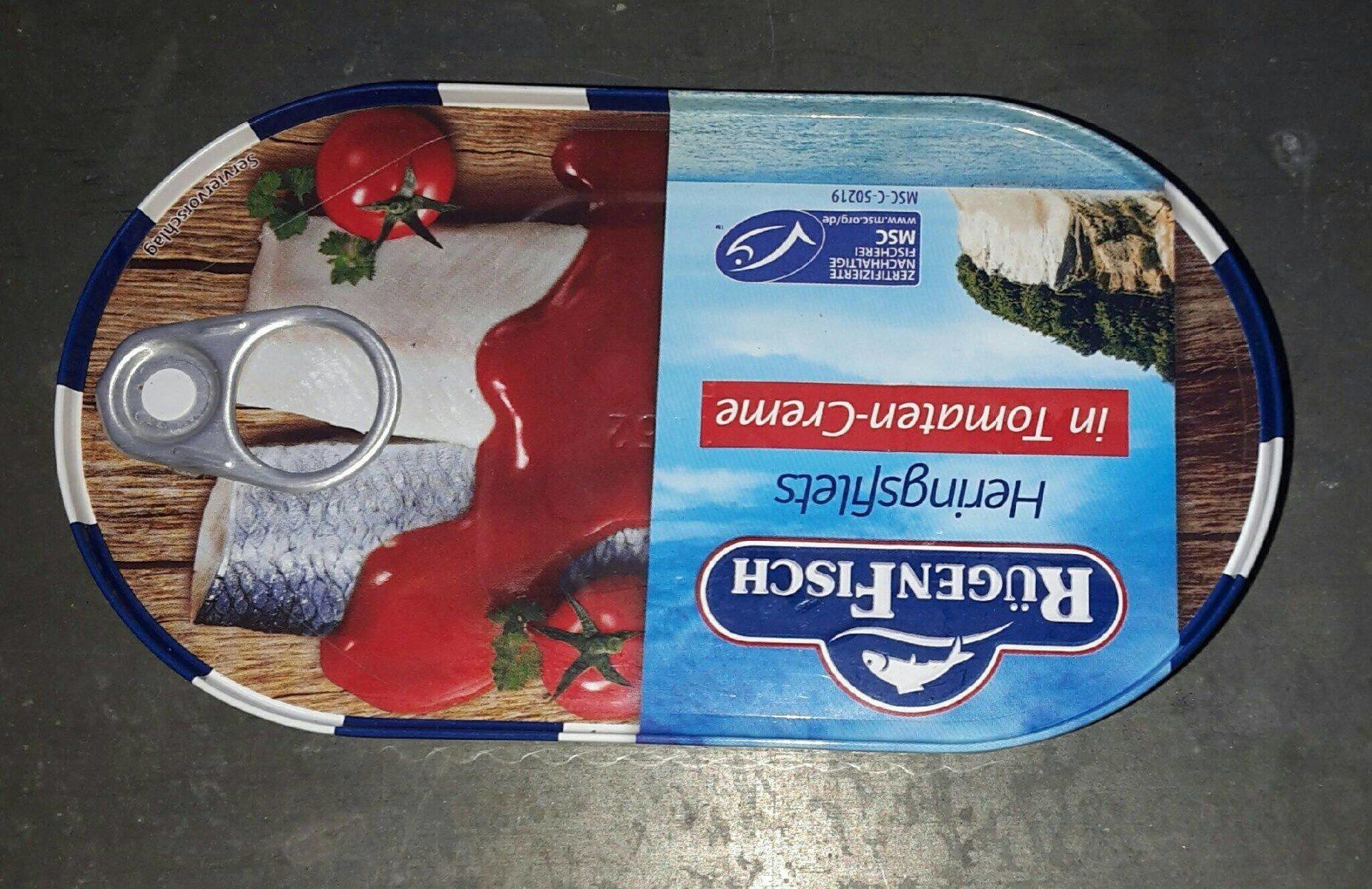 Heringsfilets in Tomatencreme - Produit - de