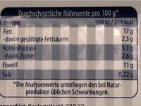 Heringsfilets in Tomatencreme - Informations nutritionnelles - de