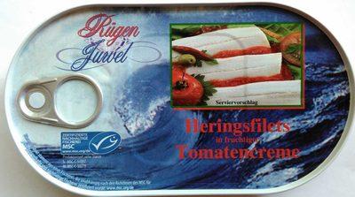 Heringsfilets in fruchtiger Tomatencreme - Produkt