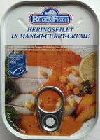 Heringsfilet in Mango-Curry-Creme - Product