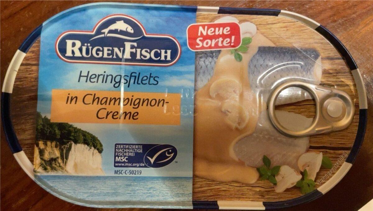 Heringfilets in Champignon Creme - Produit - de