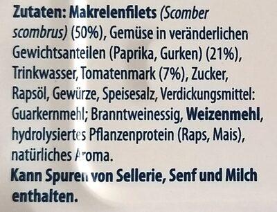 Scomber Mix Classic - Inhaltsstoffe - de