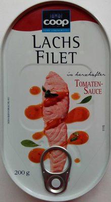 Lachsfilet in herzhafter Tomatensauce - Product - de