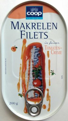 Makrelenfilets in feiner Tomaten-Creme - Product