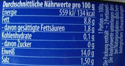 Heringsfilets in würzigem Gelee - Nutrition facts - de