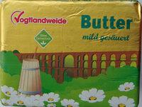 Butter mild gesäuert - Produkt
